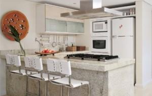 Inove a decoração e aproveite o espaço da cozinha