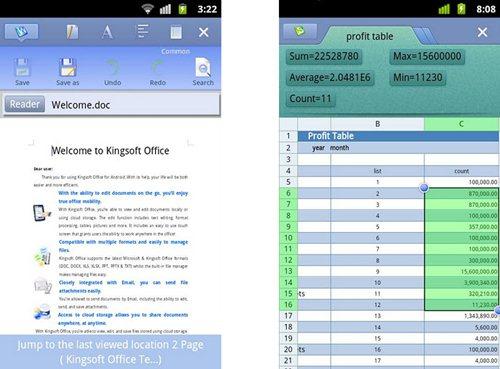 Edita arquivos do Word e do Excel