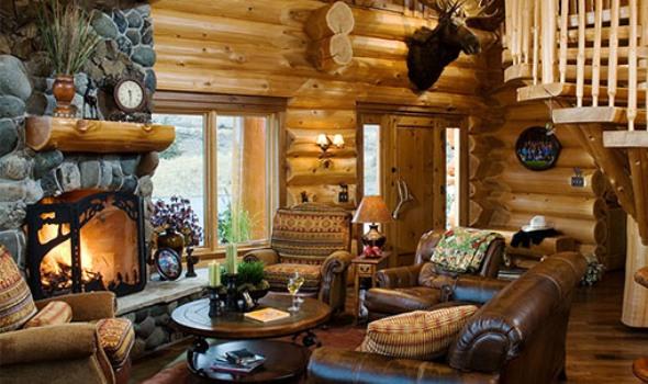 Casas de campo como decorar dicas fotos - Como decorar una casa de campo ...