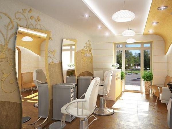 Decora o de sal o de beleza dicas fotos sugest es - Interior hair salon lighting ideas ...