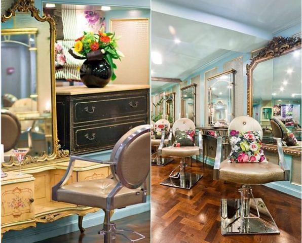 Decoração de salão de beleza - dicas, fotos, sugestões ...