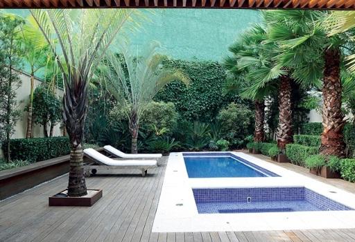 Área favorece o relaxamento e a diversão (Foto Casa e Jardim)
