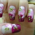 378000 unhas decoradas com borboletas 8 150x150 Unhas decoradas com flores: fotos, como fazer