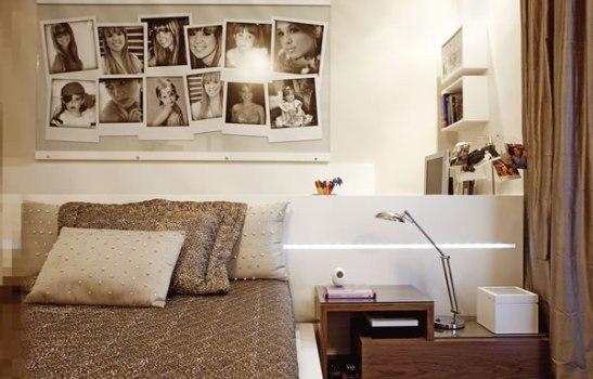 decoracao quadro branco:Deixe o seu quarto com um visual sépia através do uso das cores