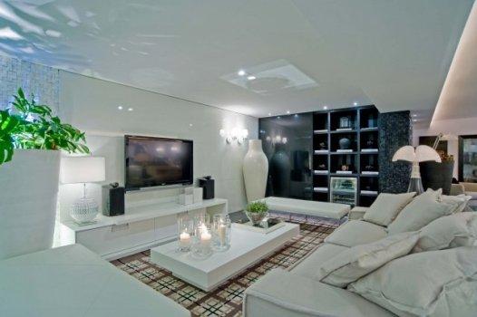 Decoracao Para Sala De Tv ~ sala de tv é um ambiente perfeito para reunir