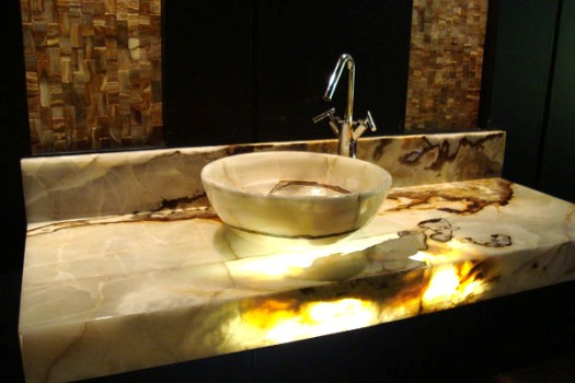 Banheiros decorados com granito fotos  MundodasTribos – Todas as tribos em  -> Banheiro Decorado Granito