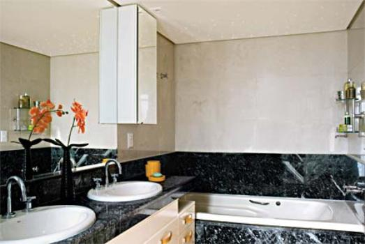 Banheiros decorados com granito fotos  MundodasTribos – Todas as tribos em  -> Banheiro Decorado Com Granito Preto