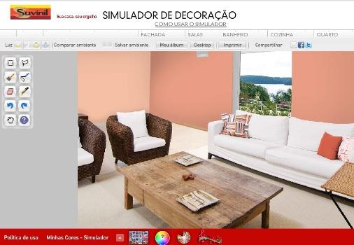 Simulador de decora o de ambientes gr tis for Simulador de cocinas integrales online