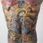 395990 tatuagem homem costas religio 150x150 Tatuagens para fechar as costas: fotos