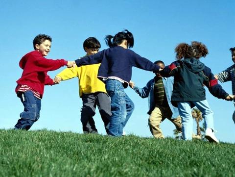 Atividades ensinam a conviver em grupo.
