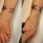 398821 estrela no pulso 5 150x150 Tatuagens no pulso: fotos