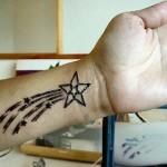 398821 estrela pulso 150x150 Tatuagens no pulso: fotos