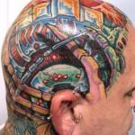 399607 headtattoo0016 150x150 Tatuagem na cabeça   Fotos