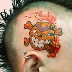 399607 headtattoo0018 150x150 Tatuagem na cabeça   Fotos
