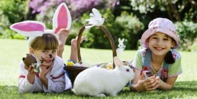 A Páscoa é uma época de alegria, principalmente para as crianças. (Foto: Divulgação)