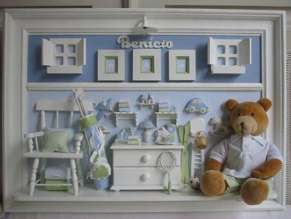 Enfeite para porta de maternidade (Foto:Divulgação)