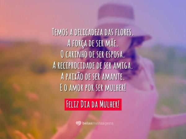 Dia Das Mulheres Frases E Poemas