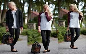 Como usar calça de couro: tendência para o inverno 2012