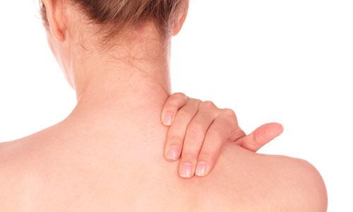 Dor na barriga e nas costas