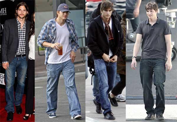 412310 estilo ashton kutcher 3 Estilo: Ashton Kutcher