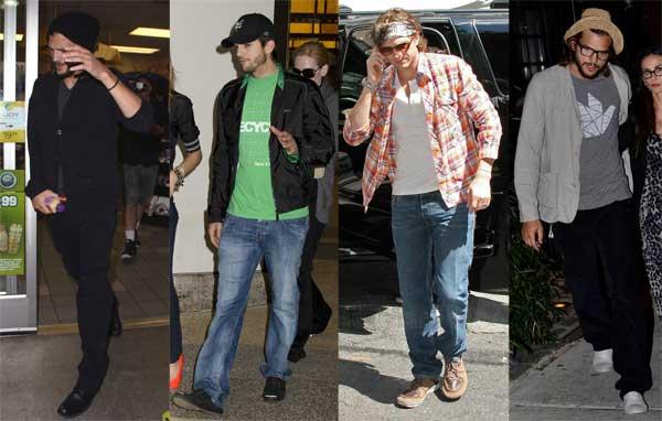 412310 estilo ashton kutcher 6 Estilo: Ashton Kutcher