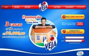 Promoção Veja Mais Sua Vida de Casa Nova: concorra a cem mil reais