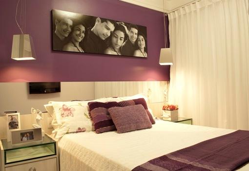 Decoração para quarto de casal dicas, fotos ~ Quarto Romantico Simples