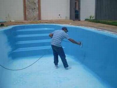 Tinta para piscina de fibra pre o for Valor piscina de fibra