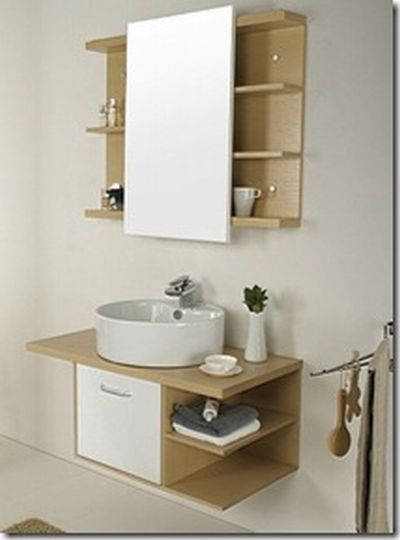 Armários para banheiros pequenos  Fotos, dicas  MundodasTribos – Todas as t -> Como Improvisar Um Armario De Banheiro