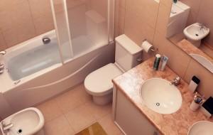 Projetos de banheiros pequenos