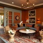 418141 sala laranja e azul 150x150 Fotos de iluminação para sala