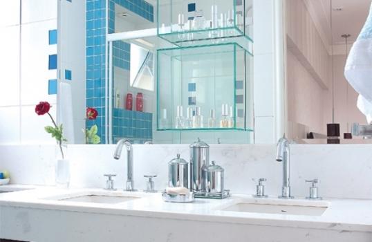 decoracao banheiro homem : decoracao banheiro homem:banheiro de casal normalmente apresenta duas pias.