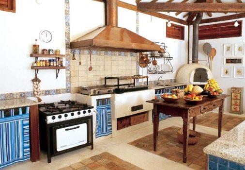 Decoração rústica para cozinha dicas, objetos, fotos