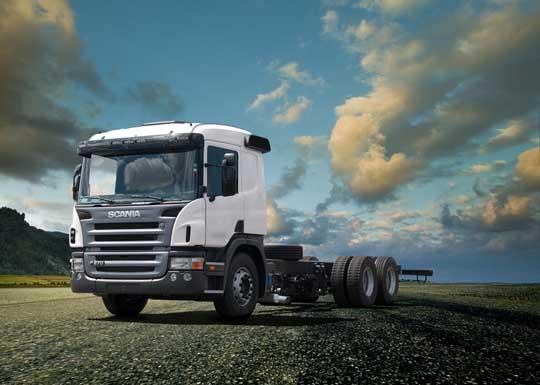 Scania P270 movido a Etanol - Linha 2012