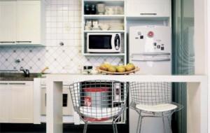 Cozinha americana pequena: fotos, dicas