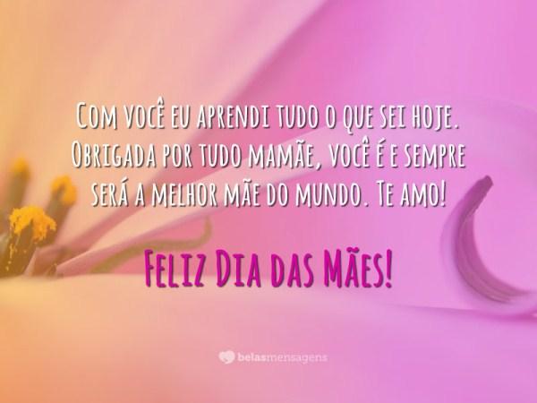 Frases Comemorativas Para O Dia Das Mães