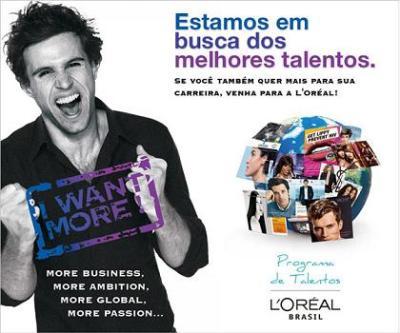 Trabalhe na maior empresa de cosméticos do mundo participando do Programa de Talentos L'Oréal 2012. (Foto: Divulgação)