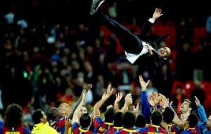 Barcelona divulga saída de Guardiola após quase 4 anos no comando