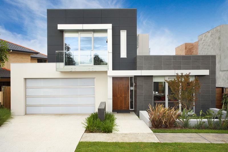 Casas com fachadas modernas fotos for Aberturas para casas modernas