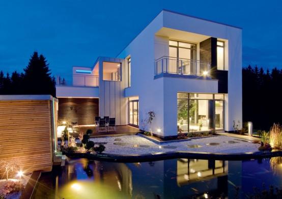 Casas com fachadas modernas fotos - Distribuciones de casas modernas ...