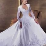 440144 Vestidos de noiva com mangas fotos 10 150x150 Vestidos de noiva com mangas: fotos