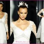 440144 Vestidos de noiva com mangas fotos 18 150x150 Vestidos de noiva com mangas: fotos