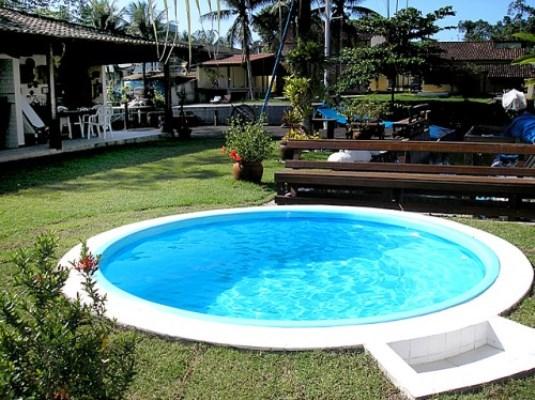 Piscina de fibra fotos e pre os mundodastribos todas for Ver modelos de piscinas