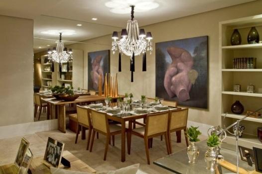 Decorar Sala De Tv E Jantar ~ Dicas para decorar sua sala de jantar  MundodasTribos – Todas as