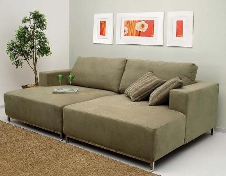 Sof s para casas pequenas modelos mundodastribos for Modelos de sofas comodos