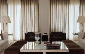 Truques de decoração com cortinas
