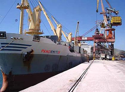 Agenciamento e fiscalização de embarcações e desembarques de cargas.