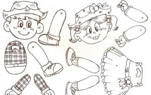 Atividades infantis para a festa junina
