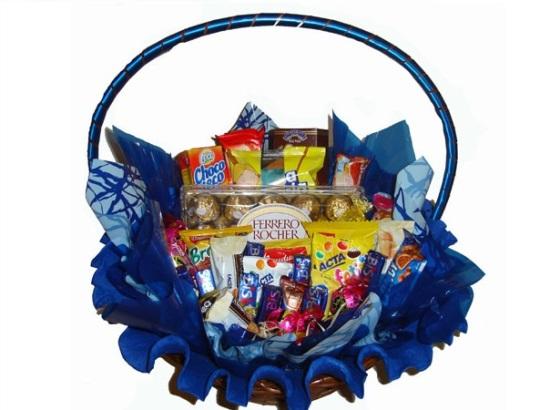 uma decoração azul na cesta do seu namorado? (FotoDivulgação