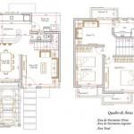 44980 plantas de casas para construir sobrados 150x150 Planta de Sobrados: Pequenos, com 2,3,4 Quartos